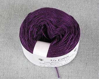 Purple Passion 5/2 Mercerized Cotton