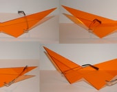 Medium V Cosplay Glasses Orange lenses.  (Perfect V) Orange