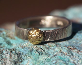 solid gold/silver ring