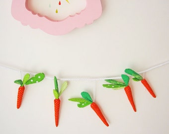 fabric carrot, spring home Decoration