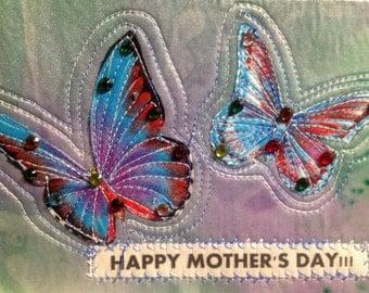 Mother's Day Butterflies Card