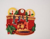 1950's Christmas Gift Tag, Mid Century Kitsch Custom Tags, Under 10, Christmas Gift For Her