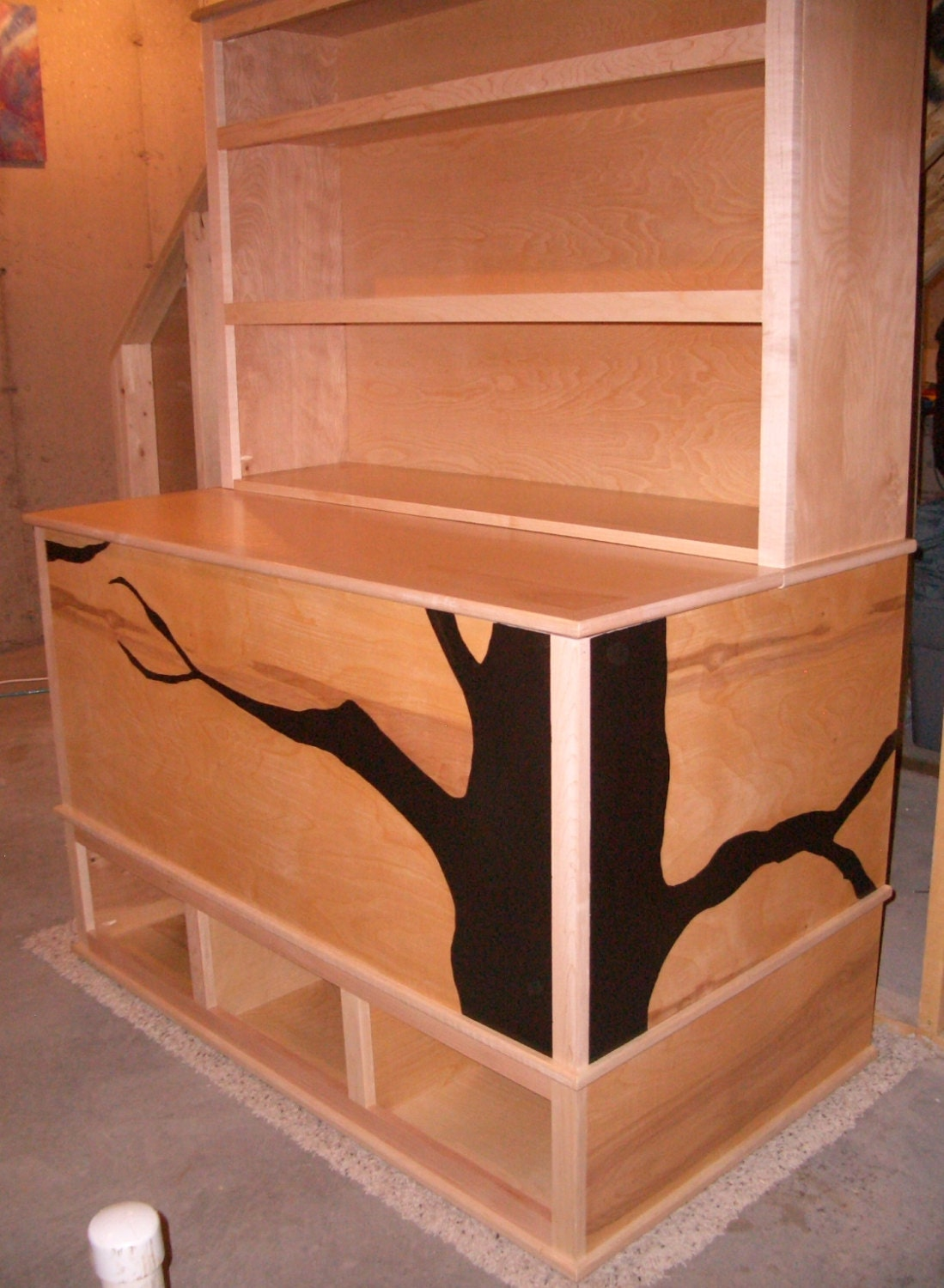 Woodworking Plans Toy Box with Cubbies and by PRATTinnovation