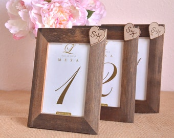 SET OF 3 Personalized wedding frames