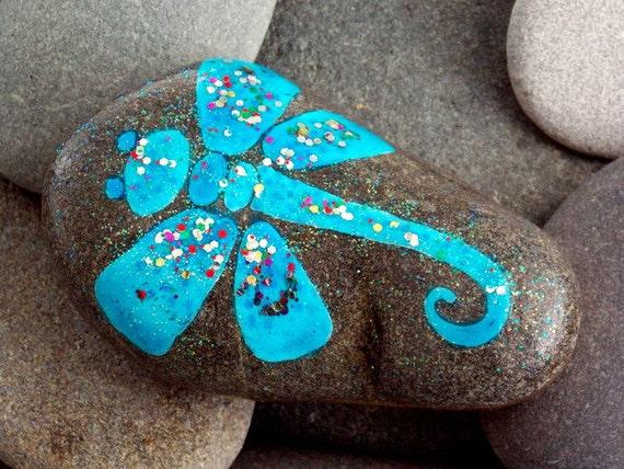 Rock Dragonfly Garden Stones