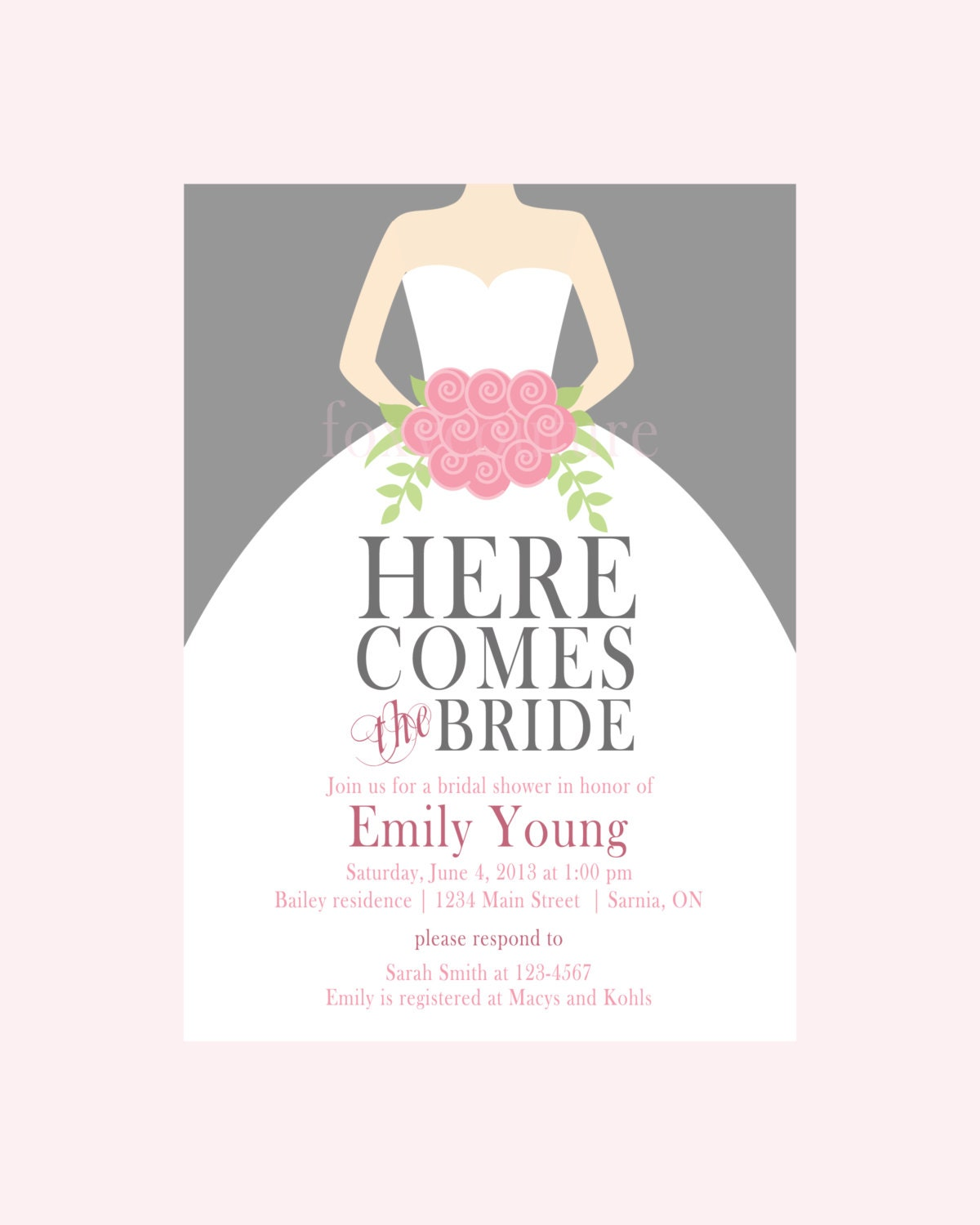Blank Bridal Shower Invitations correctly perfect ideas for your invitation layout