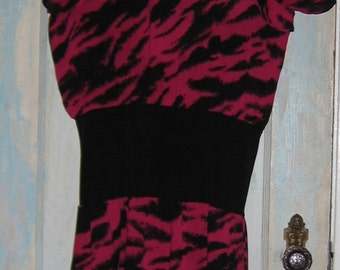 Redesigned Dress 1980's Dress Taxi CDC