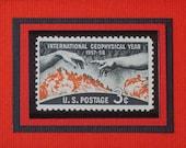International Geophysical Year - Vintage Framed Stamp - No.  1107