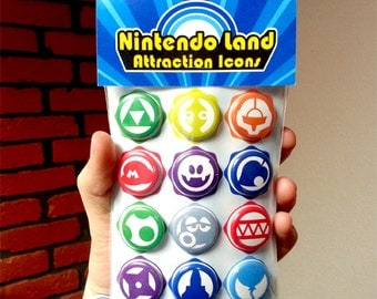 Nintendo Land - Attraction Icons