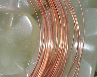 21 Half round Copper Wire