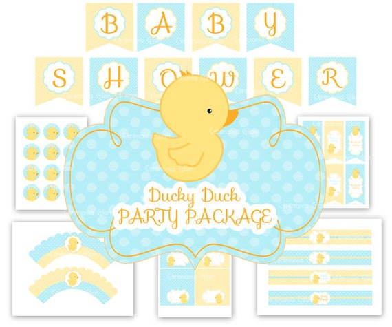 Rubber Duck Baby Shower Invitation with great invitations ideas
