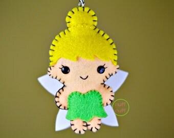 Felt Fairy - Tinker Bell - Pocket Plush Toy