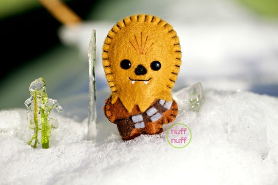 Felt Chewbacca - Pocket Plush toy