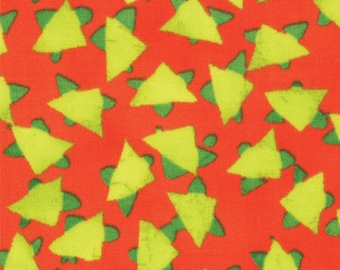 Summer Simple Marks by Malka Dubrawsky for Moda - Clementine Orange Zing - Fat Quarter cotton quilt fabric 516