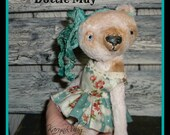 PDF EPattern  to make 8 inch 'Dottie May'   Vintage Style Viscose or Mohair Bear by Artist KarynRuby