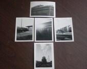 Vintage 1940's Spirit of 1776 Railroad Photos,Train Photos Set of 5