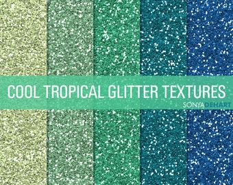 70% OFF SALE Tropical Glitter, Digital Papers, Glitter Digital, Glitter Papers, Glitter Textures, Glitter Backgrounds, Digital Glitter