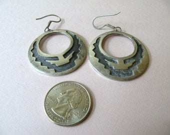 TAXCO Mexico  Sterling Silver Dangle Earrings