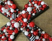 Texas Tech Red Raiders Embellished Cross Wall Hanging