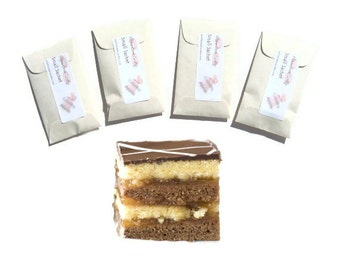 Unique Office Gifts for Staff Vanilla Caramel Spice Kitchen Scented Sachets Mini Paper Favors Corporate Company Food Themed Home Fragrance