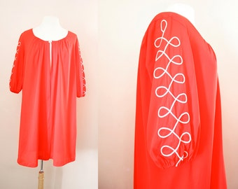 Vintage Lingerie '60s Babydoll Dressing Gown by Vanity Fair - Babydoll Nightie Retro Boudoir Pin Up Girl Style - One Size Fits All