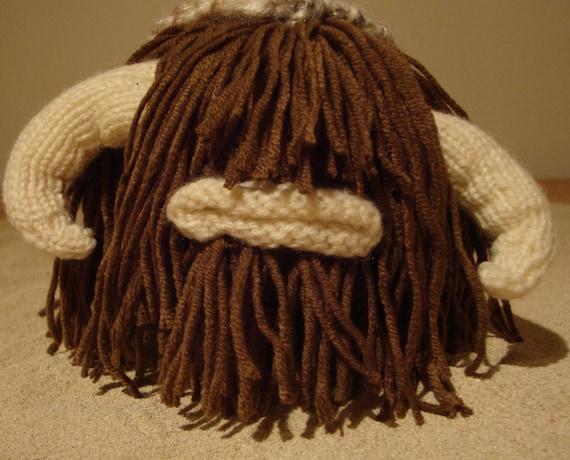 Star Wars Knitting Patterns Toys : Star wars bantha knitting pattern plush toy animal by