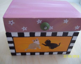 Dollhouse Toy Box Or Chest