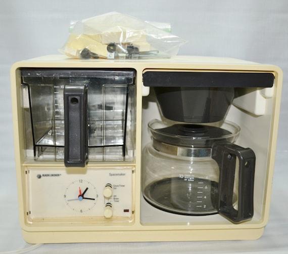 Vintage Black & Decker Spacesaver Automatic Coffee Maker
