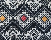 Vintage Ethnic Woven Fabric For Pillow Cover, Cushion or Wall Hanging