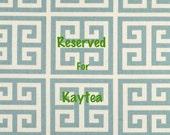 RESERVED for Kaytea Custom Bridesmaid Giftset