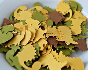 Dinosaur Birthday Party Confetti, Dinosaur Party Decorations, Dino Birthday Confetti, Volcano Party Decorations