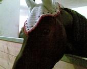 HORSE bonnet SET of 2 patterns .PDF for Fly Bonnet/ Horse Fly mask / Horse ear net / Horse hat