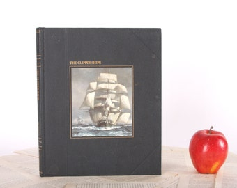 IPAD Cover- Tablet Case made from a Book- The Clipper Ships