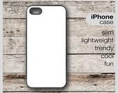 CUSTOM Keep Calm on a SLIM or TOUGH iPhone Case