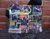 Large Back to school messenger bags, Star Wars kids school messenger bags, boys school bags,  Novelty messenger bags