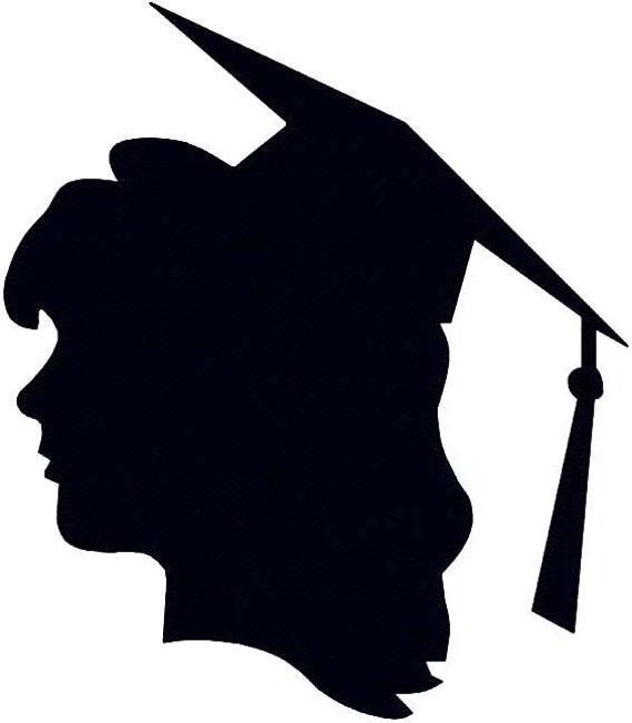 Items Similar To Graduation Silhouette Graduate School