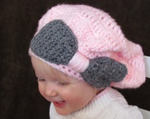 Big Bow Toddler Slouchy