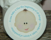 Baby Shower Favors - Whipped Body Butter - New Baby Boy (Light)