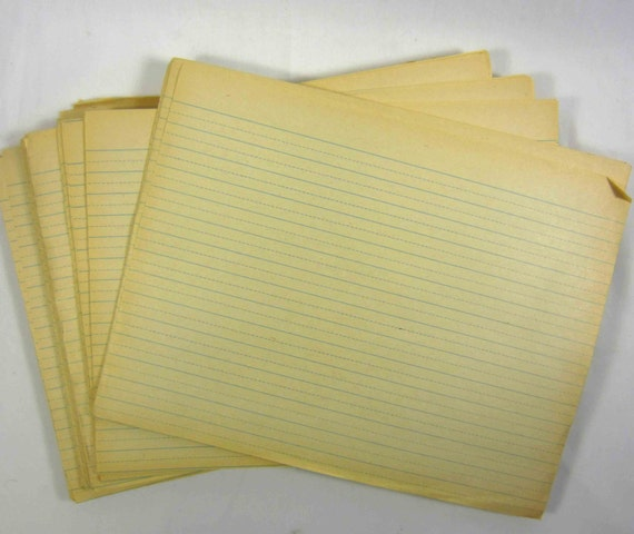 Antique writing paper