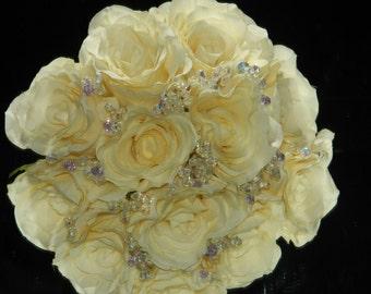 Dazzle crystal bouquet