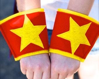 Stupendous Superhero Cuffs - your choice of colors
