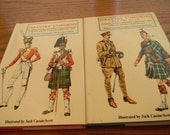 1969,70 Wilkenson-Latham Infantry Uniforms Books, Britain and the Commonwealth, Vintage
