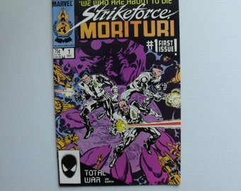 """Strike Force Morituri """"We Who Are About To Die"""" No.1 (1986)"""