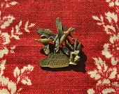 From France / Wonderful 1950s French Hunting Pin
