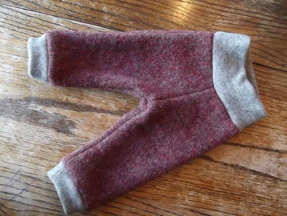SMALL Wool Longies Wool Pants Diaper Cover