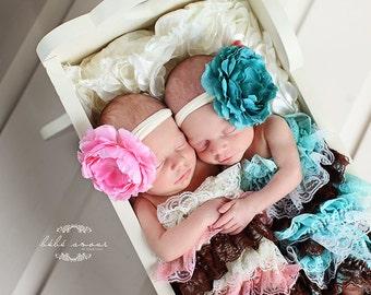Toddler Headband, Newborn Headband, Flower Headband, Baby Headband, Infant Heafband, Photography Prop