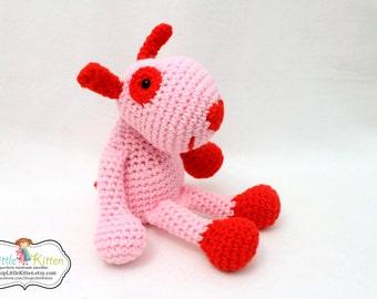Puppy Love Crochet Rag Doll Plush - Cupid - Ready To Ship