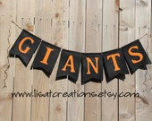 San Francisco Giants Felt Banner / Baseball Decoration
