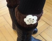 Knit Boot Cuffs, Leg Warmer, boot socks, Gift for her, Accessories, boot cuffs, leg warmers, shoes accessories