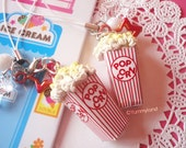 Cute and Sweet Circus Popcorn with Strap -ONE-